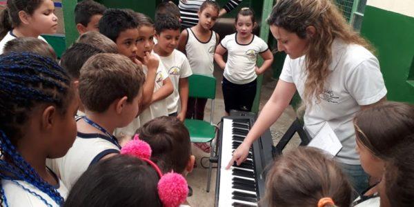 Vivências musicais no piano