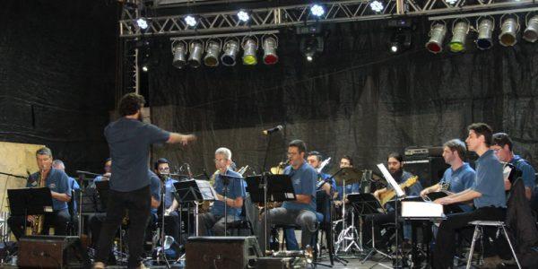 Big Band Estância Brasileira se apresentou na UNICAMP